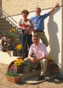Reinier avec Wolter Witzel et son épouse Ilse Strik