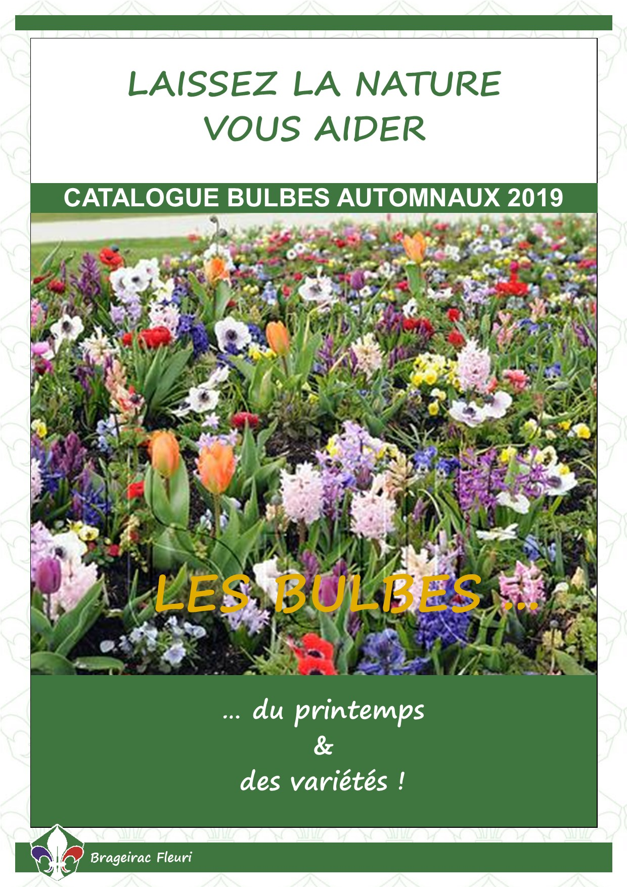 Catalogue bulbes automnaux 2019