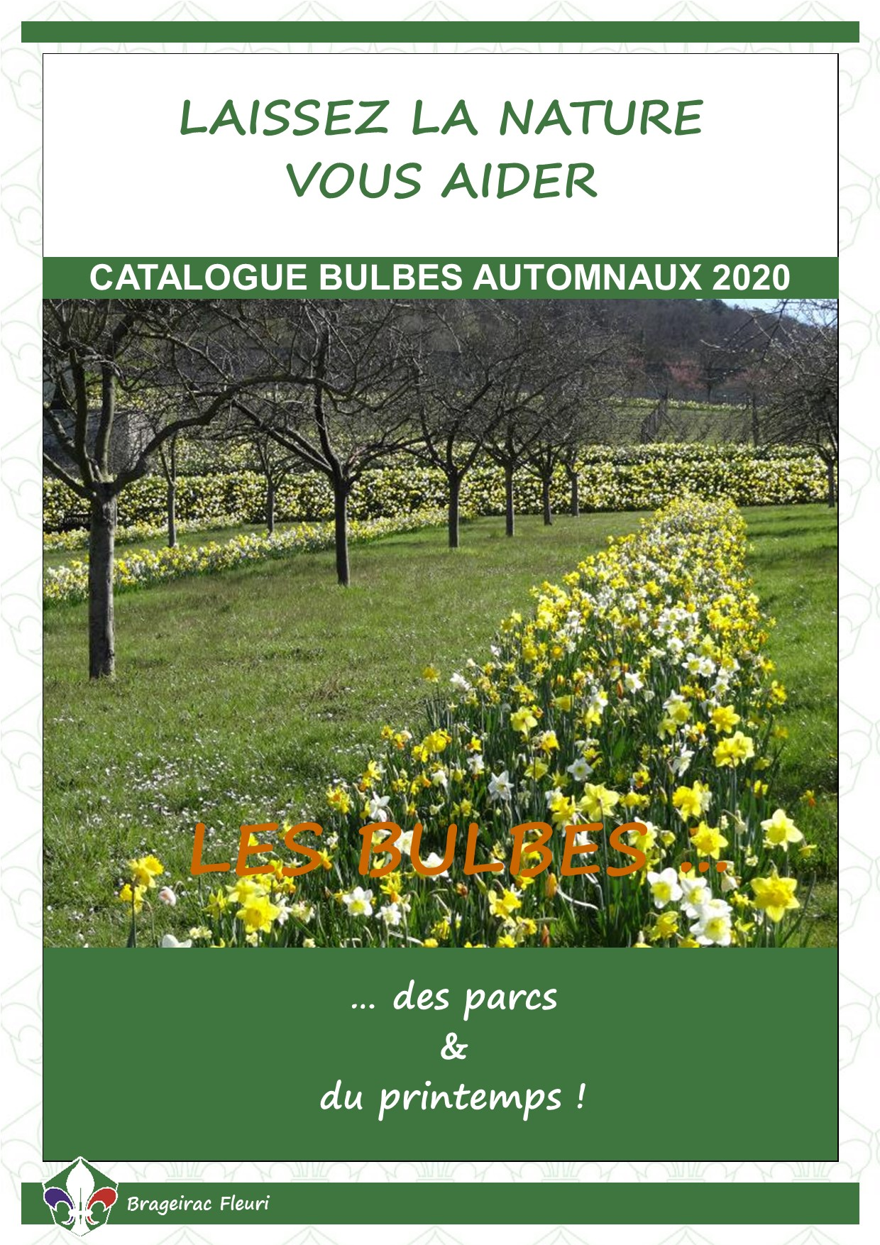 Catalogue bulbes automnaux 2020